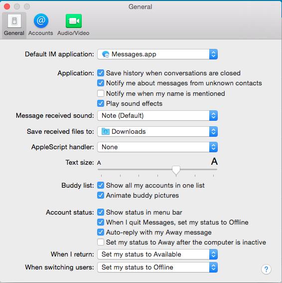 iMessage font customisation option not present