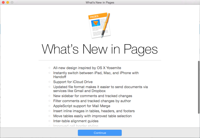 Pages in Yosemite